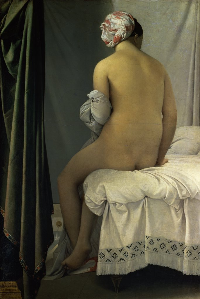 Stock Photo: 1158-2379 The Bather of Valpincon 