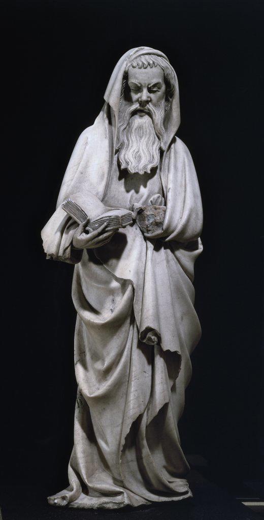 Stock Photo: 1158-2431 Apostle  Sculpture  Musee du Petit-Palais, Avignon, France