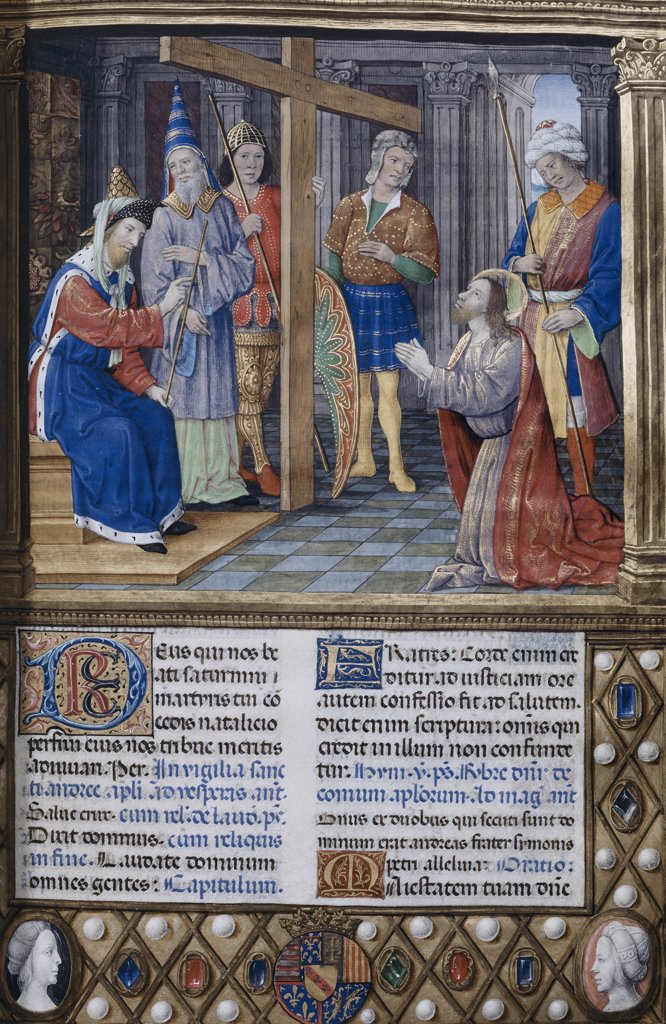 Stock Photo: 1158-2471 Christ Preparing for the Crucifixion 