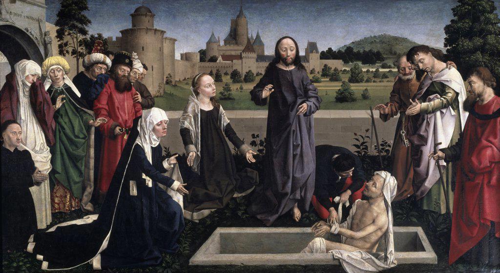 The Raising of Lazarus  Anonymous  : Stock Photo