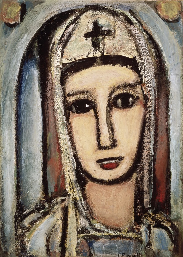 Veronica by Georges Rouault, circa 1945, 1871-1958 : Stock Photo