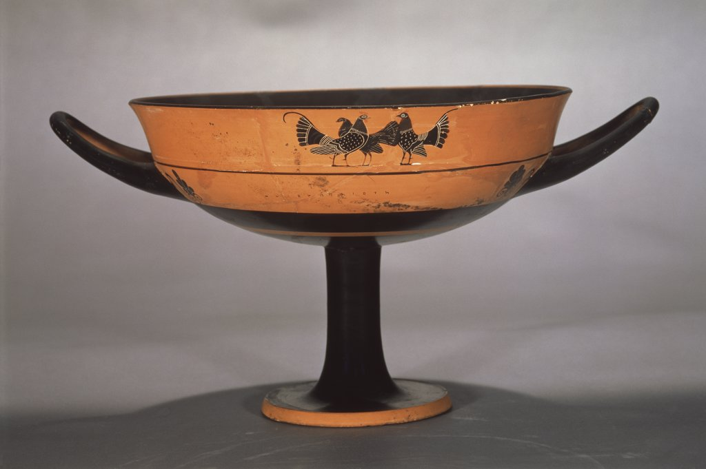 Stock Photo: 1158-2509 Black-figure Kylix