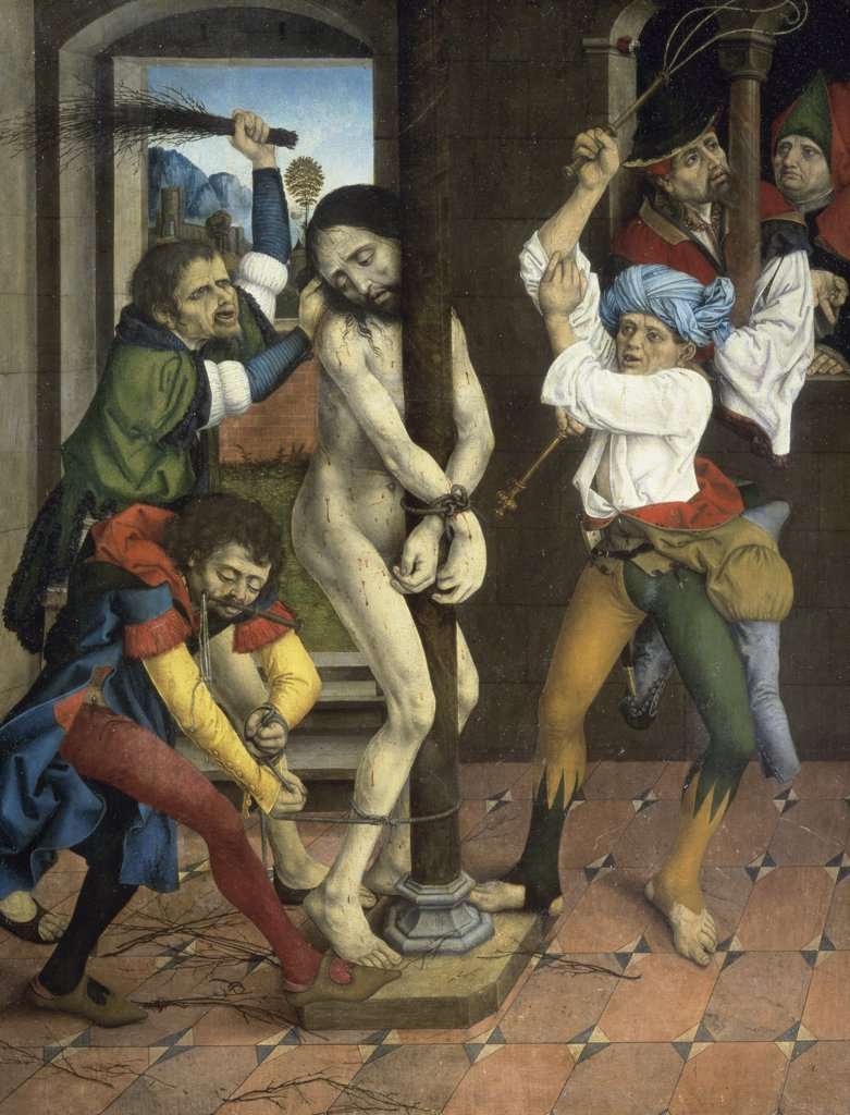 Stock Photo: 1158-2523 Flagellation of Christ