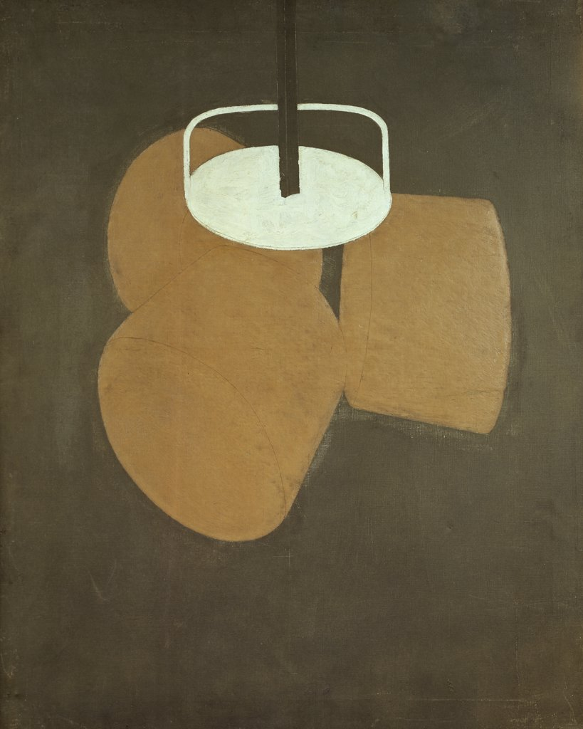 Stock Photo: 1158-2549 The Chocolate Grinder by Marcel Duchamp, 1914, 1887-1968, Germany, Dusseldorf Museum