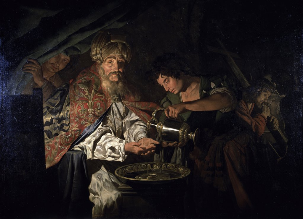 Stock Photo: 1158-2577 Pilate Washing His Hands
