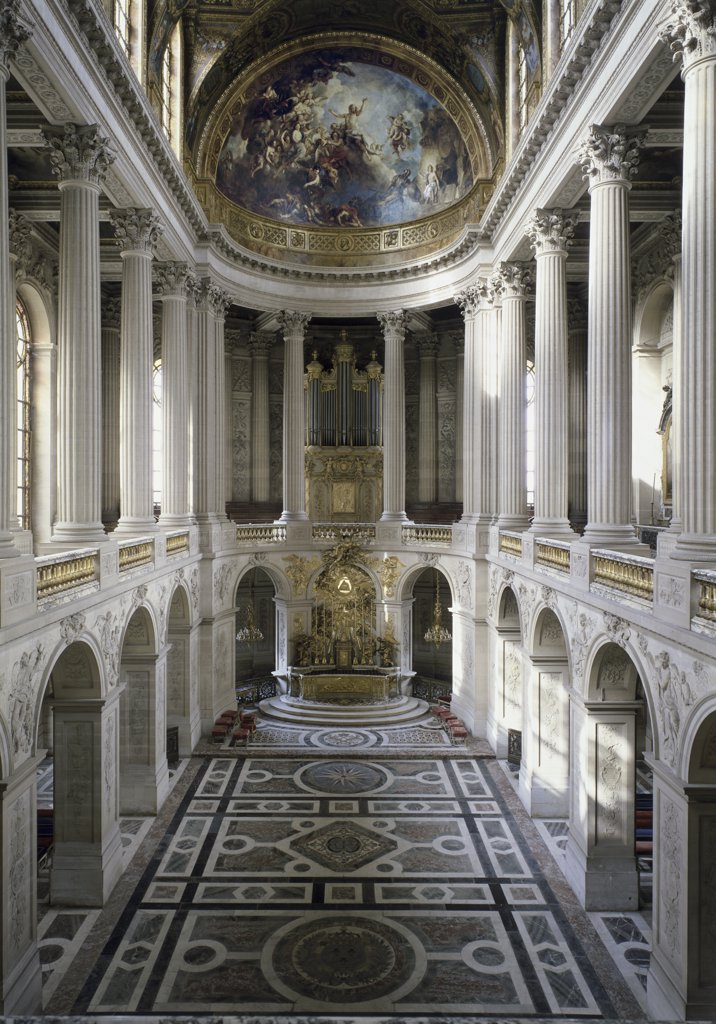 Nave of the Chapel at Versailles