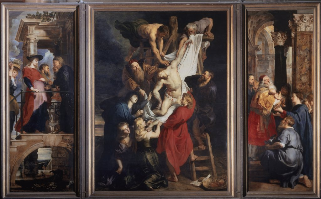 Stock Photo: 1158-2634 Descent from the Cross