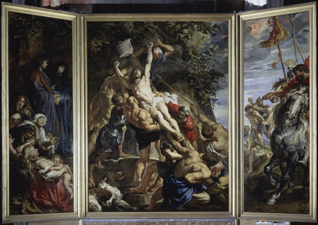 Stock Photo: 1158-2635 Raising of the Cross