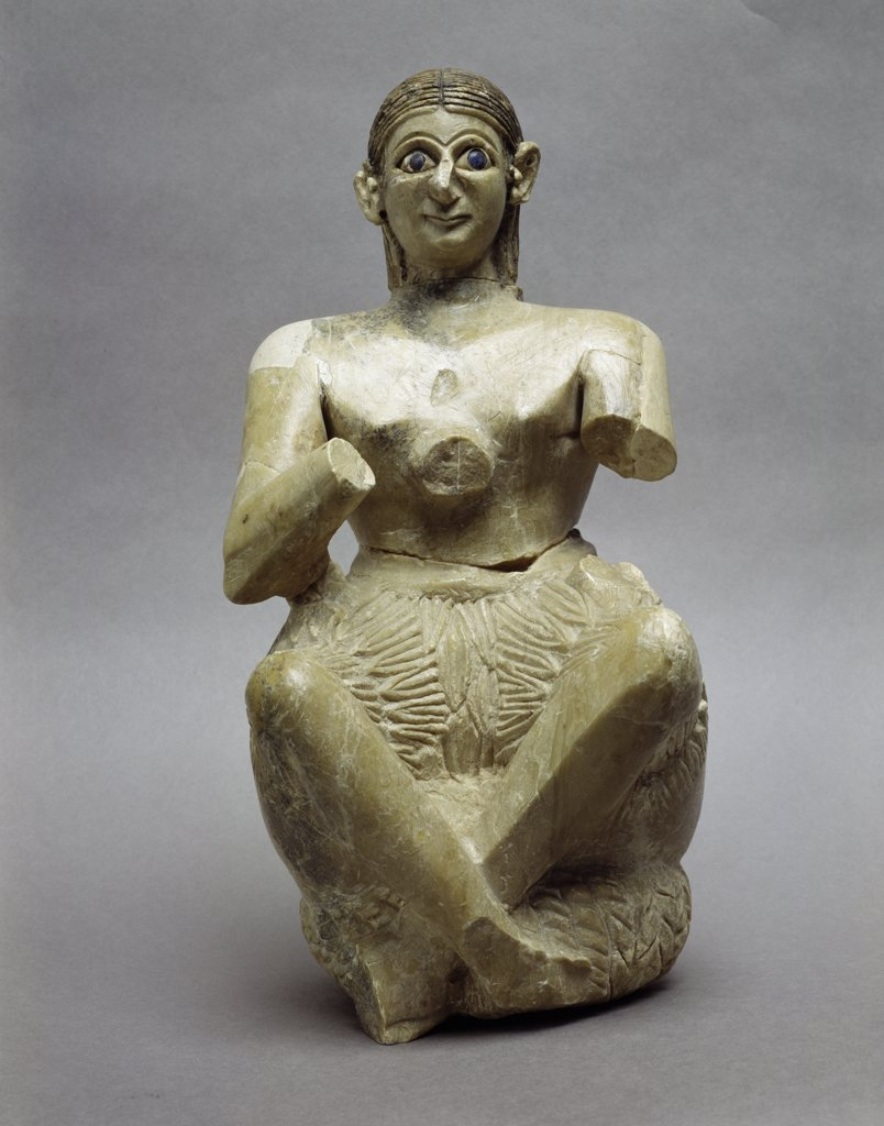 Princess Of Mari Artist Unknown Ivory : Stock Photo