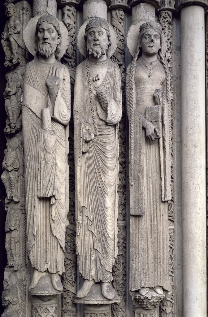 Stock Photo: 1158-2675 Jamb Figures