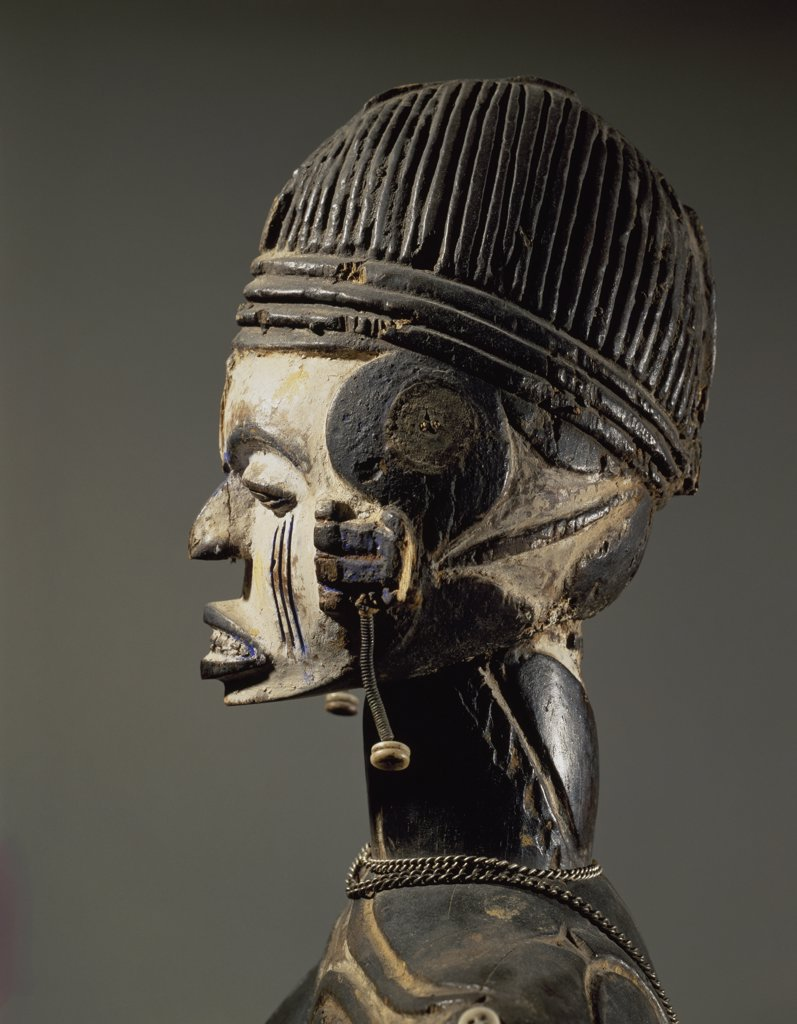 Stock Photo: 1158-2678 Female Figure Nigerian Art Wood