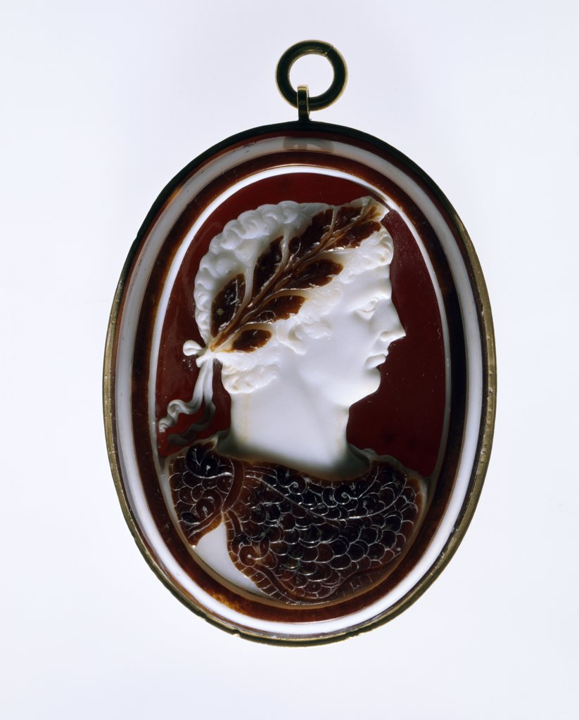 Stock Photo: 1158-2684 Cameo, jewelry, France, Paris, Bibliotheque Nationale