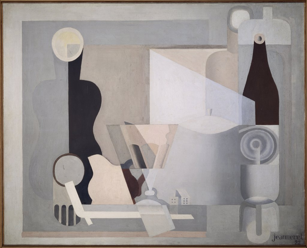pale still life with lantern by le corbusier 1922 1887 1965 france paris le corbusier. Black Bedroom Furniture Sets. Home Design Ideas