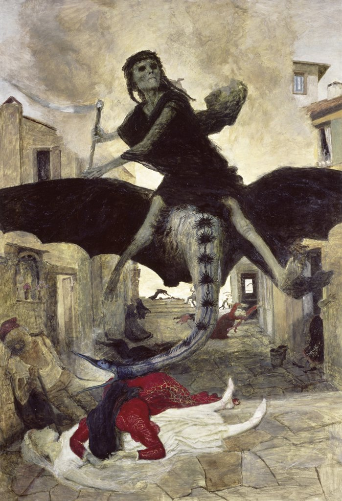 Stock Photo: 1158-832 The Plague