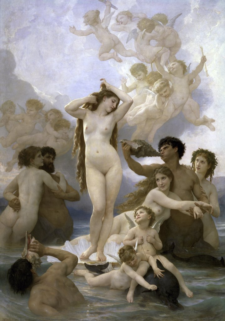 Stock Photo: 1158-838 Birth of Venus 