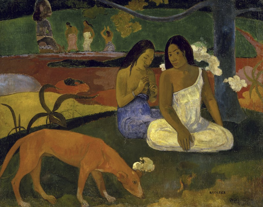Stock Photo: 1158-840 Arearea (Joyousness)