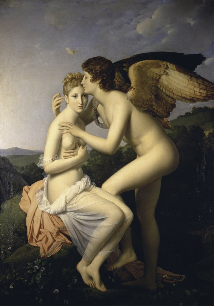 Stock Photo: 1158-844 Cupid and Psyche  