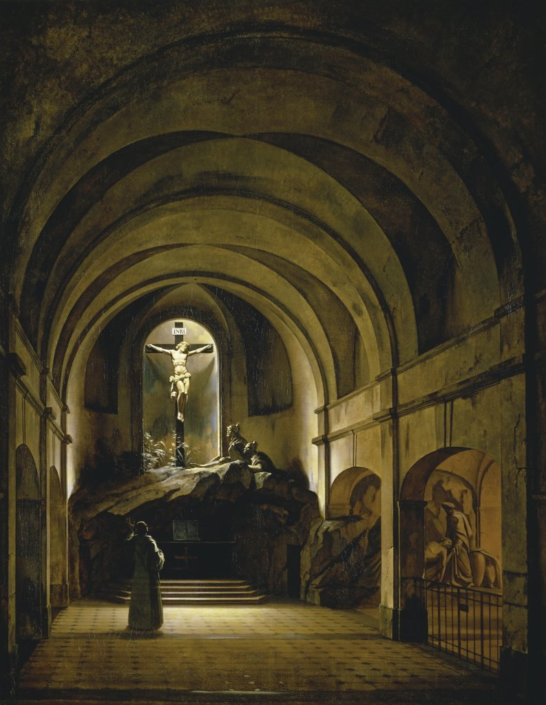Stock Photo: 1158-851 Chapelle du Calvaire 