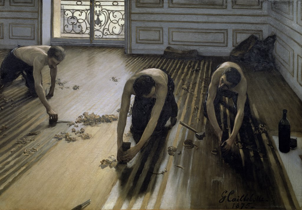 Stock Photo: 1158-857 The Floor-Scrapers 