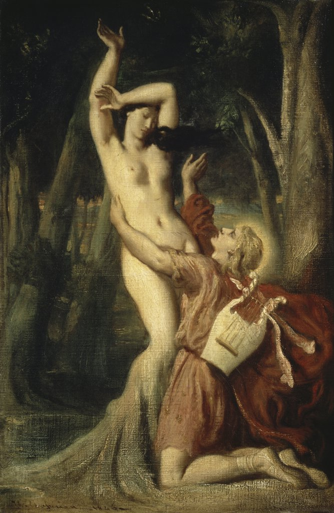 Stock Photo: 1158-867 Apollo and Daphne 