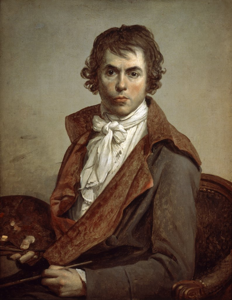 Stock Photo: 1158-912 Portrait of the Artist by Himself