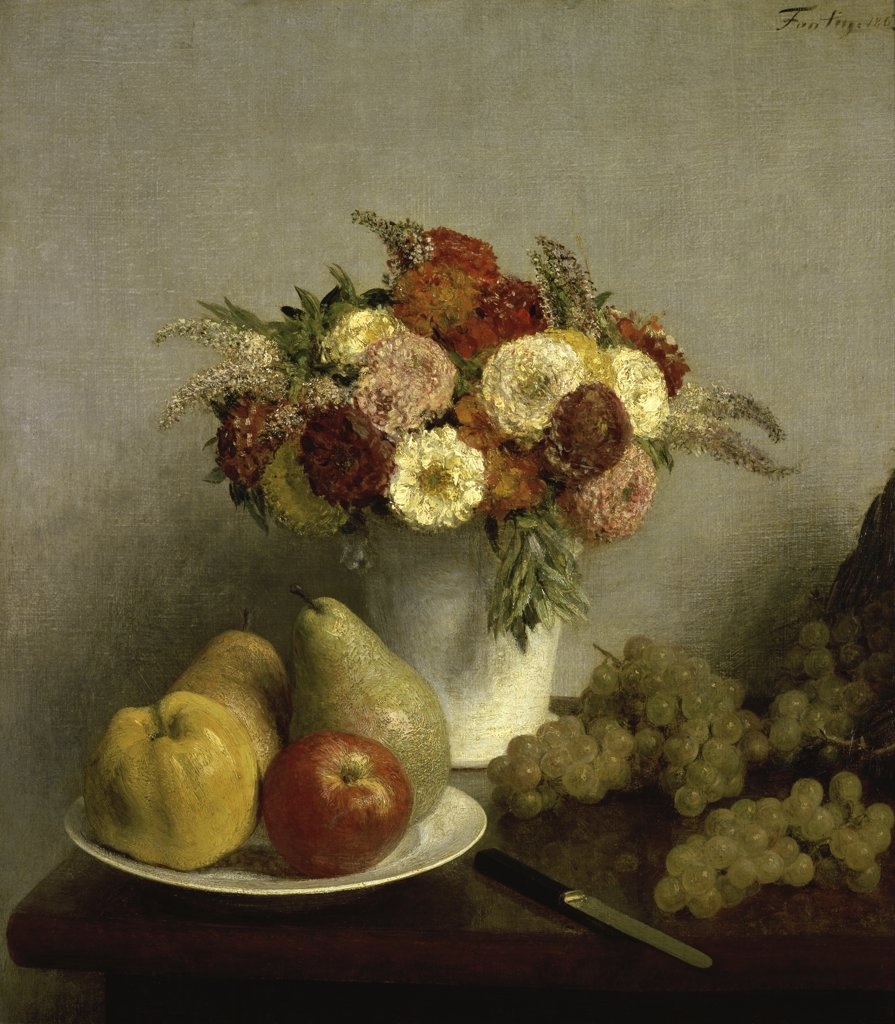 Stock Photo: 1158-980 Flowers and Fruit 