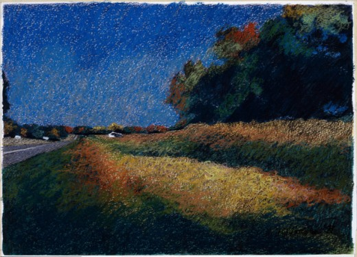 Stock Photo: 1162-76560 A Country Road In North Alabama