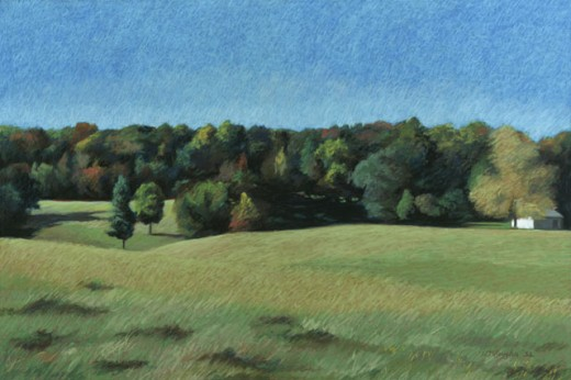 Stock Photo: 1162-76561 Landscape In North Alabama