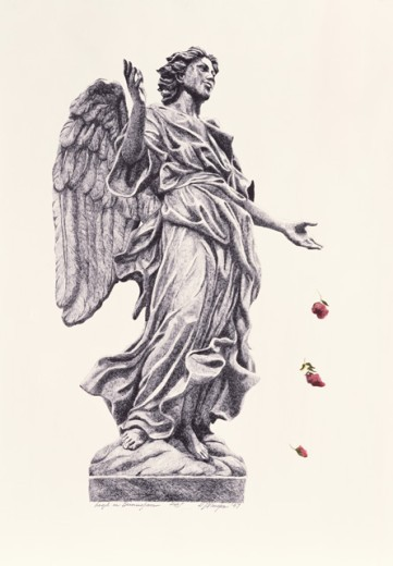 Stock Photo: 1162-76565 Angel in Birmingham