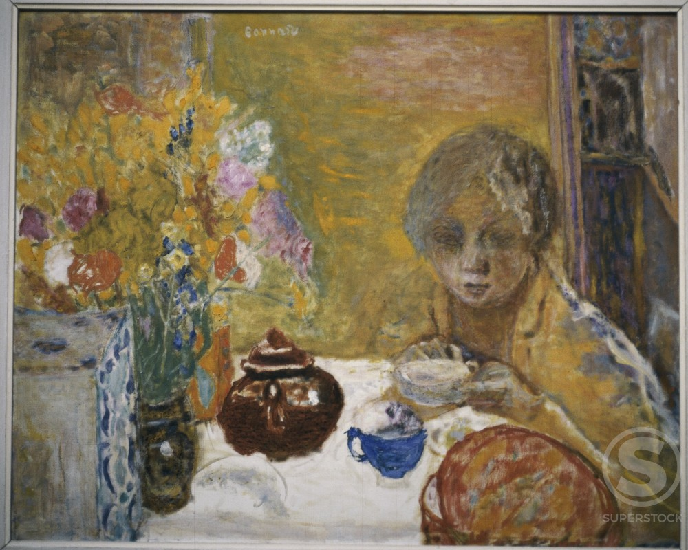 Stock Photo: 1191-700 The Lunch by Pierre Bonnard, 1932, 1867-1947, France, Paris, Musee du Petit Palais
