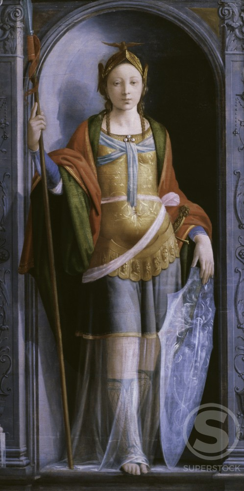 Stock Photo: 1191-703 Minerva 
