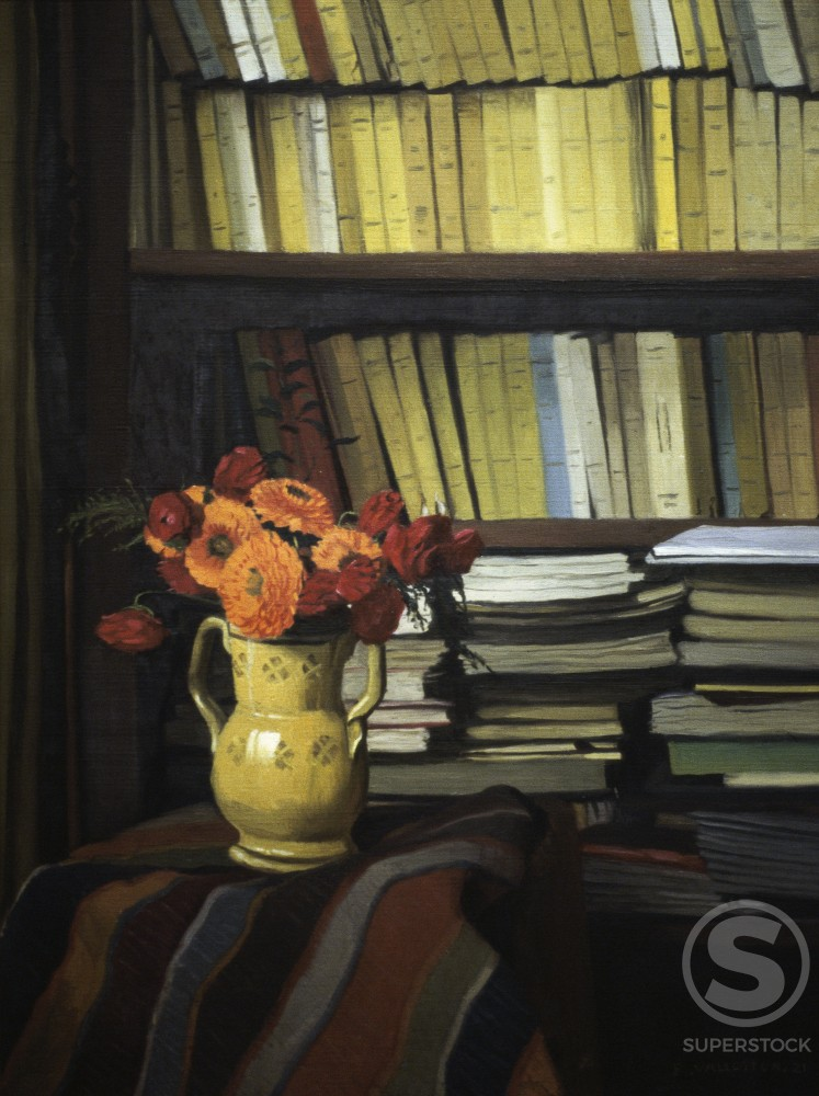 Stock Photo: 1191-705 The Library 