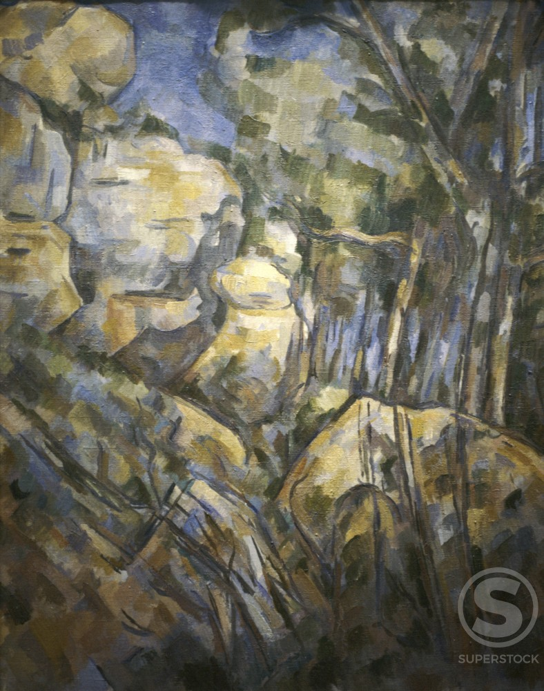 Boulders Near the Caves Above Chateau Noir