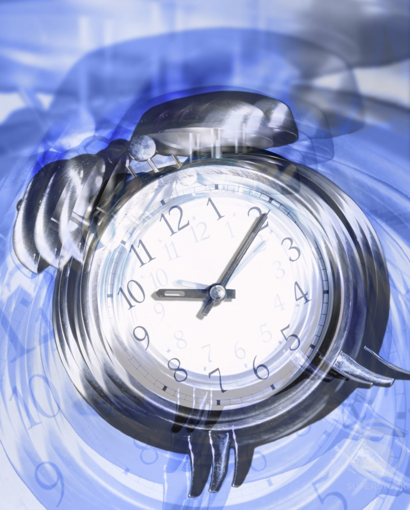 Stock Photo: 1198-149 Close-up of a clock face