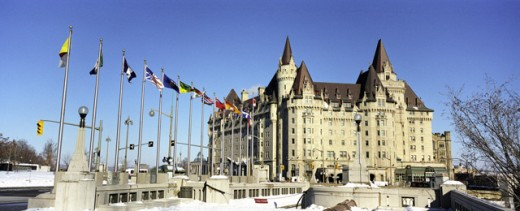 Stock Photo: 1241-915 Chateau Laurier