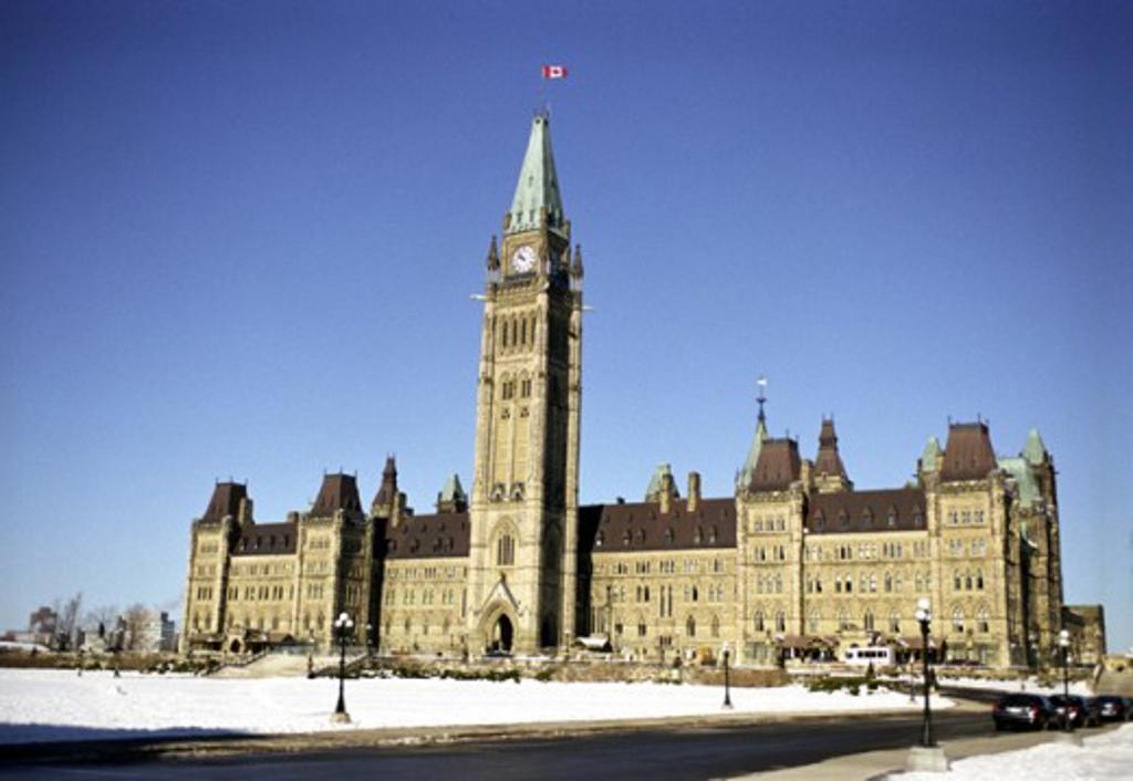Parliament Ottawa Ontario Canada : Stock Photo