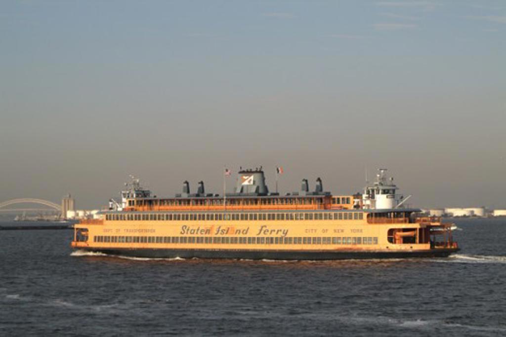 Stock Photo: 1245-303 Staten Island Ferry New York City USA