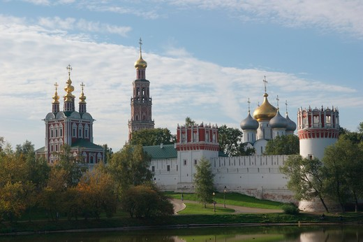 Stock Photo: 1246-1460 RUSSIA, Moscow: Novodevicij-convent