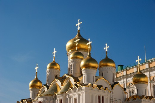 Stock Photo: 1246-1541 RUSSIA, Moscow, Kremlin: Mariae Annunciation Cathedral
