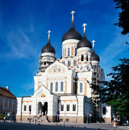 Stock Photo: 1246-278 Alexander Nevski Cathedral, Tallinn, Estonia