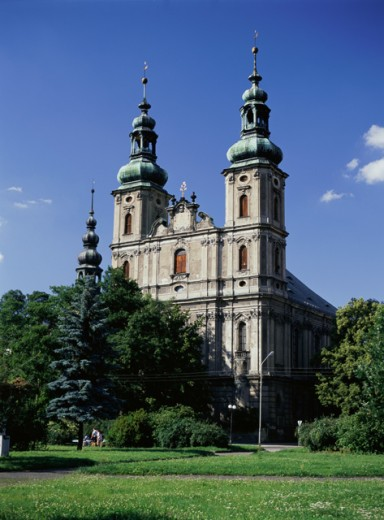 Stock Photo: 1246-649 St. Peter and St. Paul Church, Nysa, Poland