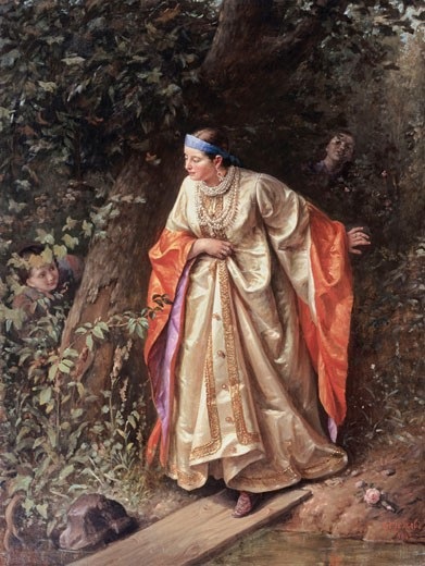 Stock Photo: 1249-606 Hide & Seek