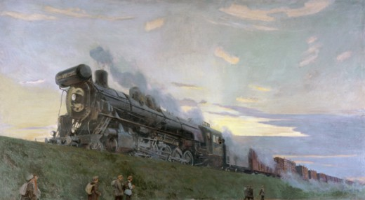 Stock Photo: 1249-637 The High Power Locomotive