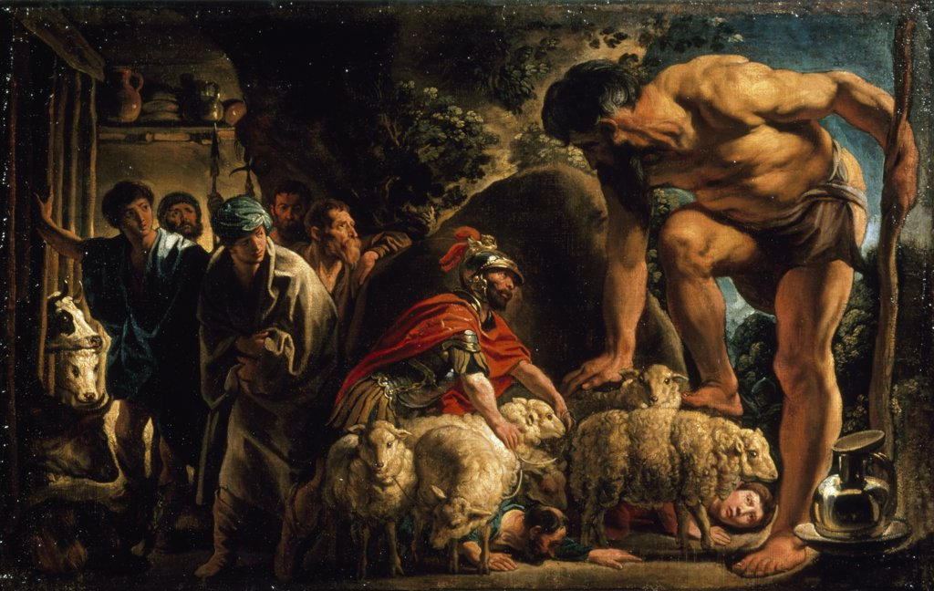 Odysseus In Polyphemus' Cave