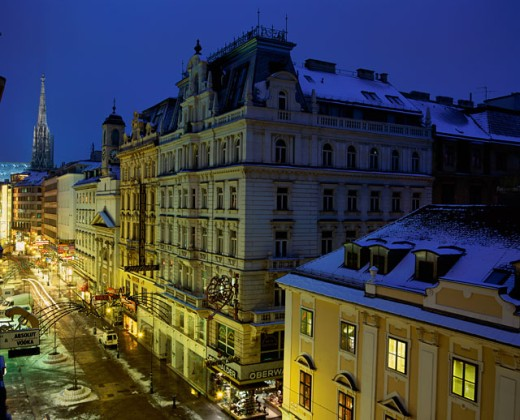 Stock Photo: 1269-1484 Buildings in Vienna, Austria