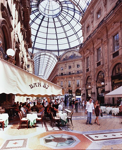 Stock Photo: 1269-1645 Vittorio Emanuele Gallery