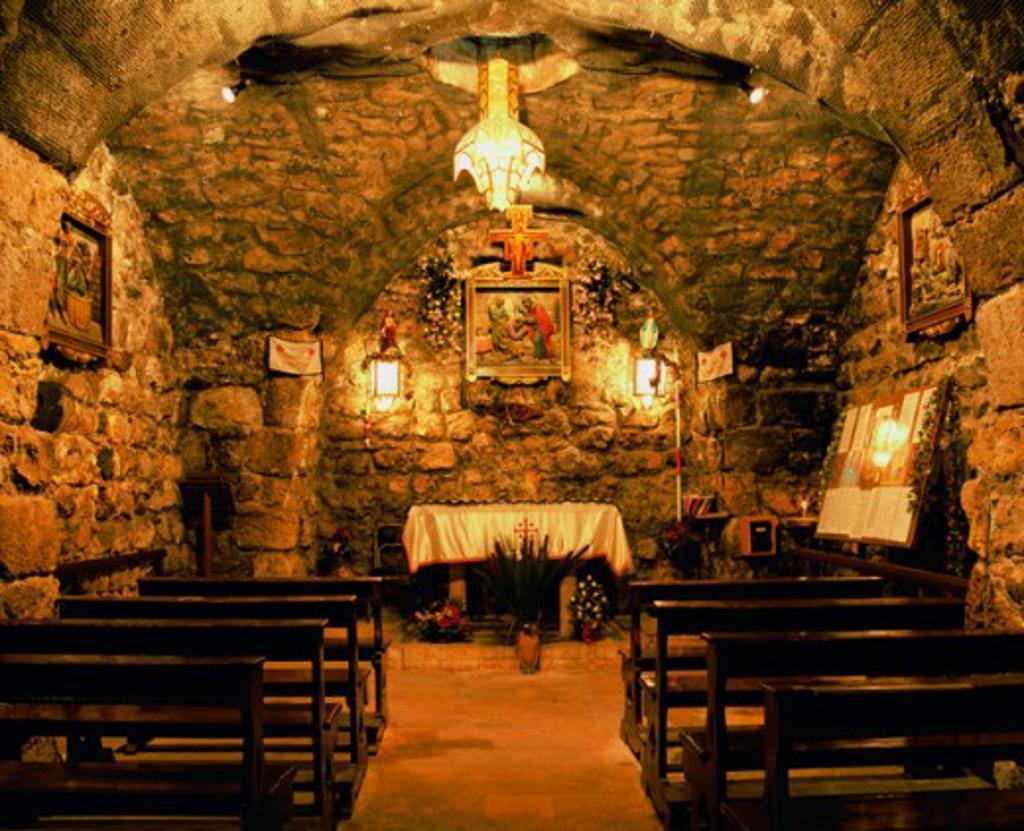 St. Ananias Church Damascus Syria : Stock Photo