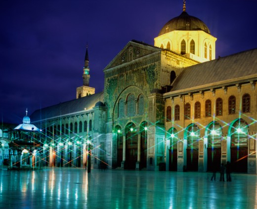 Stock Photo: 1269-1921A Omayyad Mosque
