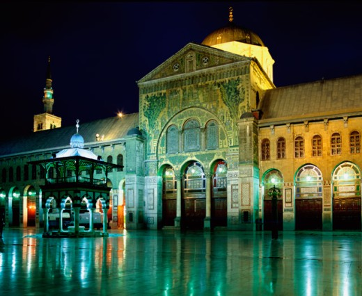 Stock Photo: 1269-1921B Omayyad Mosque
