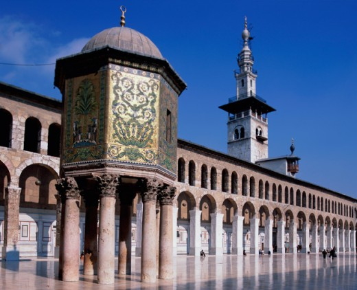 Stock Photo: 1269-1922 Omayyad Mosque